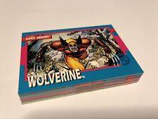 bb49736f4a3 1992 Impel Marvel X-Men - Jim Lee - Incomplete Set 32 Cards NM
