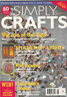 SIMPLY CRAFTS Magazine August 1995 (Issue 10)