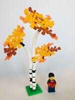LEGO Tree Custom Birch Aspen! Fall Autumn, Moc, City, Town, Brand New Parts!