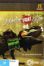 Jurassic Fight Club. 3 DVD Dino Battle Docco. New! R4