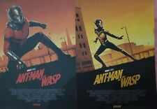 Avengers Captain Marvel /& Ant-Man And The Wasp ODEON A4 Poster Matt Ferguson