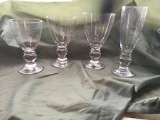 4~ MIKASA Crystal PROVENCE ICED TEA WINE Other GLASSES NWT