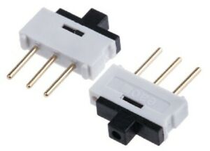 EOZ SIP SWITCHES 5Pcs 2-Way 500mA -40 To +85°C SPST Slide Actuator, Through Hole