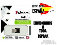 Kingston 64GB DTDUO3 MicroDuo USB 3.0 OTG Micro USB Flash Memoria Drive Stick