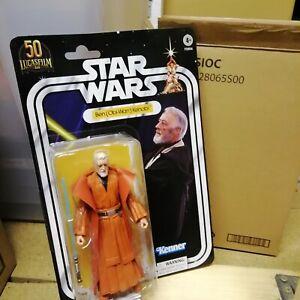 "Star Wars The Black Series Obi Wan Kenobi 50th Anniversary Action Figure 6"""