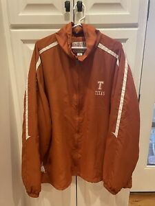 VTG University of Texas Longhorns Windbreaker Jacket 3XL NCAA Football USA