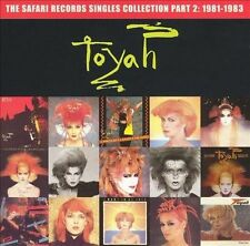 Toyah CD Safari Records Singles Collection Vol. 2 rare OOP