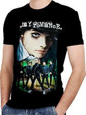 MY CHEMICAL ROMANCE BAND 1 Black New T-shirt Rock T-shirt Rock Band Shirt