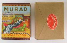 1920s / 1930s advertising fake MURAD CIGARETTE BOX novelty Gag Japan mint sealed
