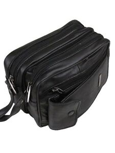 MONEY CASH BAG BLACK LEATHER COIN HOLDER CHANGE DISPENSER BUS TAXI DRIVER