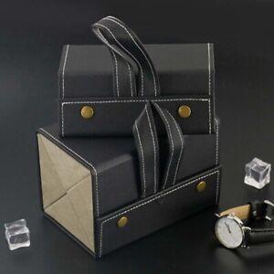 PU Bag Save space PU Leather Glasses Case Sunglasses Box Storage box Organizer-