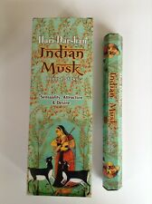 Wholesale Hari Darshan Ethical Incense 6 x 20 Stick packs Indian Musk Fragrance