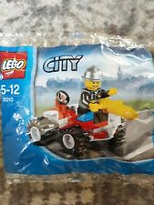 LEGO CITY Fire Chief Polybag 30010 Brand New Sealed