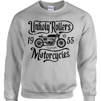 Unholy Rollers Sweatshirt Mens Womens jumper bike bike motorcycle racing custom