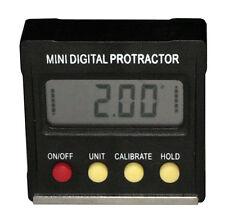 Digital inclinometer level caravan magnetic draw bar fridge degrees percentage