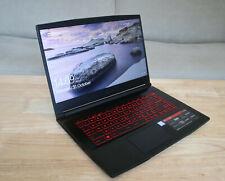 MSI GF63 8RC Gaming Laptop - 15.6 Inch, i7-8750H, 16GB DDR4, GTX 1050, HHD & SSD
