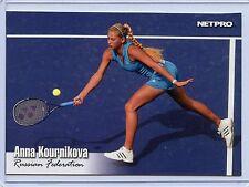 2003 NETPRO ANNA KOURNIKOVA JUMBO ROOKIE CARD