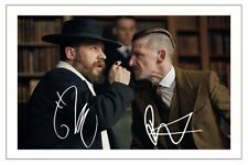 TOM HARDY & PAUL ANDERSON PEAKY BLINDERS AUTOGRAPH SIGNED PHOTO PRINT