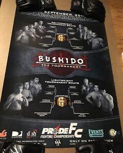 Pride Fc Bushido 9 Poster B2 Takanori Gome Dan Henderson - UFC MMA Strikeforce