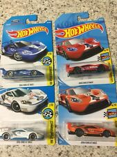 Hot Wheels Legends of Speed 2016 FORD GT RACE x4 variations