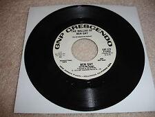 Ben Gay - The Ballad of Ben Gay Promo 45 RPM Record EX/NM