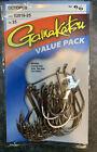 Gamakatsu 02016-25 Octopus Catfish Fishing Fish Hooks Nickel 6/0 25 Pack