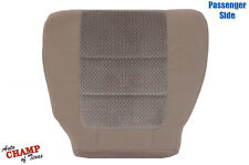 2002-2004 Ford F250 F350 XLT Quad-Cab-Passenger Side Bottom Cloth Seat Cover Tan