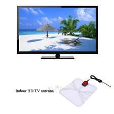 1.5m/4.92ft 75 OHM Flat Ultra Thin Indoor Digital HD TV Antenna Pannel High Gain