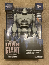 The Iron Giant Robot Light and sound Walking Figure Warner Bros Exclusive New