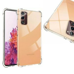 Shockproof Case For Samsung Galaxy S10 S20 FE S21 5G Gel Bumper TPU Clear Cover