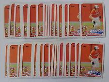 Robin Ventura 1989 Topps Baseball Rookie Card #764 - 50 Card Lot