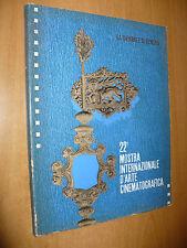 BIENNALE DI VENEZIA 22a MOSTRA INTERNAZIONALE D'ARTE CINEMATOGRAFICA 1961 CINEMA