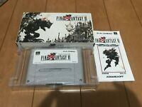 FinalFantasy VI Japan Super Famicom SNES BOX and Manual