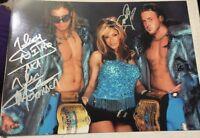 John Morrison Melina Signed 8x11 Photo W/exact Proof Wwe Raw Lucha Underground