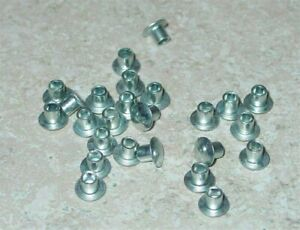 "25 Semi Tubular 1/8"" by 1/8"" Tonka Rivets RIV-1/8"