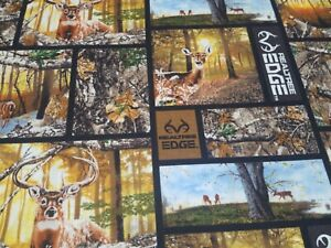 Welding  cap made with Realtree with Deers