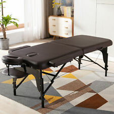 Professional Massage Table Portable Spa Bed Folding Salon Bed with Carrying Case