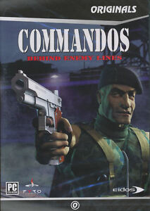 COMMANDOS BEHIND ENEMY LINES Vintage Combat Strategy PC Game NEW _ US Seller