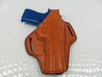 Gazelle - Belt Holster Right Hand COLT 1911 Leather RIght Brown