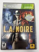 L.A. Noire (Microsoft Xbox 360, 2010) 3-Disc Complete Tested Working Rockstar