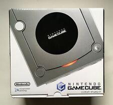 Nintendo GameCube SILVER DOL-101 Japan Console Brand New in Box Very Rare NTSC-J