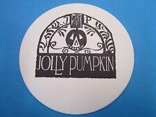 Beer Collectible Coaster ~*~ JOLLY PUMPKIN ~ Halloween Carved Pumpkin ~ MICHIGAN