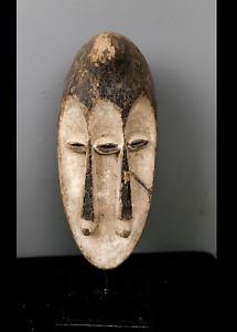 Old Tribal Mahongwe 3 Eyes Mask      ---  Gabon BN 24