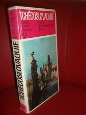 TCHECOSLOVAQUIE Guide renseignements faits  -  Editions Ctibor Rybar 1982