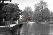 PHOTO  1979 RIVER THAMES OXFORD VIEW BELOW FOLLY BRIDGE THE 'HEAD OF THE RIVER'