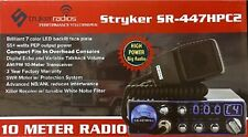 Stryker SR447HPC2 55W High Power 10m Radio with Multi Color Selectable Face NEW