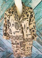 Vintage African Cardigan Sam Hilu