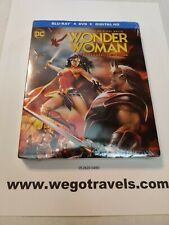 Wonder Woman (Blu-ray/DVD,  And Digital HD 2017, Commemorative Edition) new