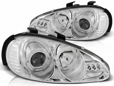 RINGS HEADLIGHTS LPMA01 MAZDA MX-3 1991 1992 1993 1994 1995 1996 1997 1998 CHROM