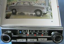 OLDTIMER-RADIO BLAUPUNKT SCHMALE BLENDE FÜR MERCEDES-BENZ PAGODE W113 111 BMW
